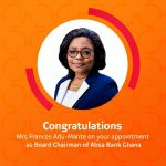 Absa Bank Ghana Limited Appoints Frances Adu-Mante As The Board Chair
