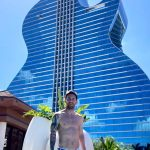Lionel Messi Was At The Beautiful Guitar Hotel (Photos)